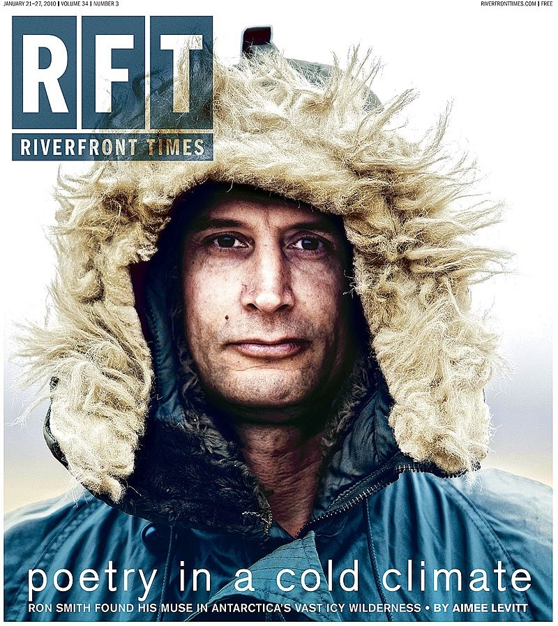 Ronnie Smith Graces the Cover of Riverfront Times